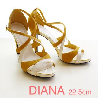 DIANA - DIANA_22.5cm_バイカラーサンダル