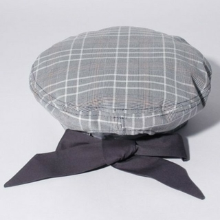 axes femme - アクシーズ ファム 新品  後ろリボンベレー帽