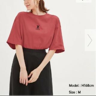 ジーユー(GU)のGU ポケモンコラボ クロップドTシャツ (Tシャツ(半袖/袖なし))