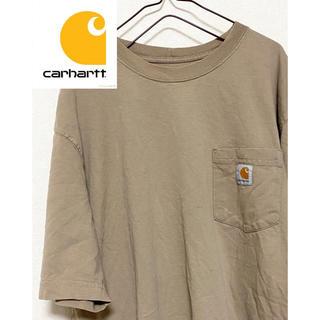 カーハート(carhartt)の【激レア!】カーハートワンポイントロゴ ビッグサイズ半袖Tシャツ(Tシャツ/カットソー(半袖/袖なし))