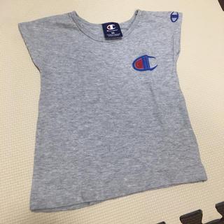 Champion - champion 刺繍Tシャツ90cm  グレー