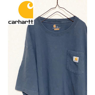 カーハート(carhartt)の【激レア!】カーハートワンポイントロゴ 2XL ビッグサイズ半袖Tシャツ(Tシャツ/カットソー(半袖/袖なし))