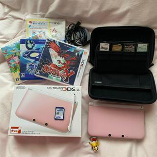 任天堂 - 任天堂3DS LL 本体+カセット7点セット