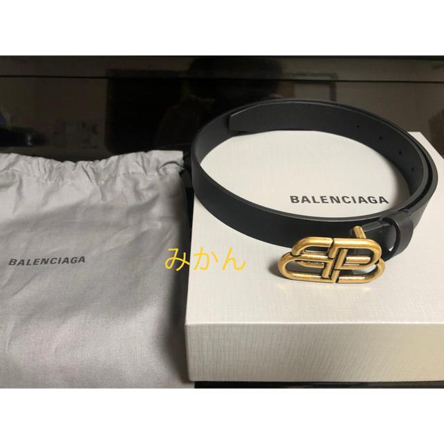 Balenciaga(バレンシアガ)の新品✨ バレンシアガ balenciaga bb  ロゴベルト メンズのファッション小物(ベルト)の商品写真