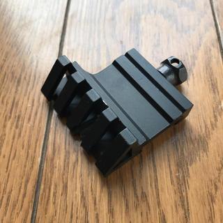 45度 斜め ベースマウント マウントリング 20mm対応(エアガン)