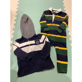 ラルフローレン(Ralph Lauren)のラルフローレンロンパース&ポロシャツセット(ロンパース)