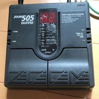 ズーム(Zoom)の値下げZOOM 505 ギターエフェクター(エフェクター)