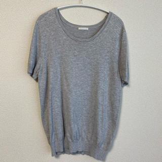 ジーユー(GU)のgu 夏用 半袖ニット(カットソー(半袖/袖なし))