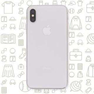 アイフォーン(iPhone)の【B】iPhoneX/256/SIMフリー(スマートフォン本体)