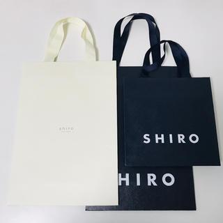 シロ(shiro)のシロ ショップ袋 ショッパー セット(ショップ袋)