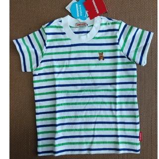 mikihouse - 【新品タグ付き】ミキハウス 半袖Tシャツ ボーダー 80