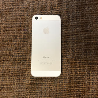 Apple - iPhone 5s Silver 16 GB au バッテリー換装済み