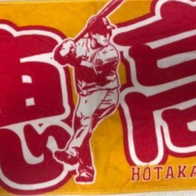 西武ライオンズ 山川 フェイスタオル スポーツ/アウトドアの野球(応援グッズ)の商品写真