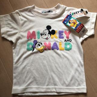 Disney - ディズニー Tシャツ 100 レトロ