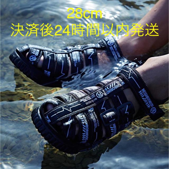 NEIGHBORHOOD(ネイバーフッド)のNEIGHBORHOOD SHAKA ネイバーフッド ハイカー サンダル メンズの靴/シューズ(サンダル)の商品写真