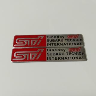 SUBARU STI ステッカー シール エンブレム 2枚セット