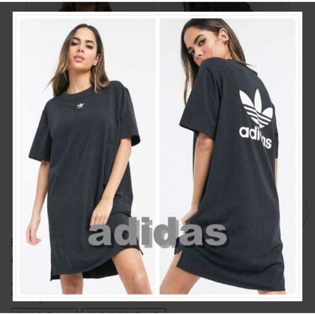 adidas(アディダス)の★adidas Originals★Tシャツ ワンピ レディースのワンピース(ひざ丈ワンピース)の商品写真