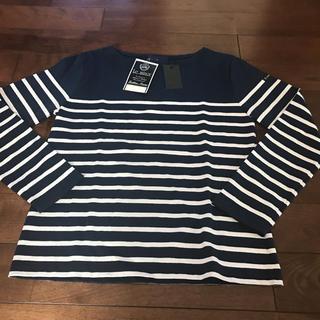 Le Minor - 新品 未使用 ルミノア ボーダー Tシャツ ネイビー ホワイト パリ フランス