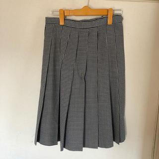 HANAE MORI - 制服スカート  ギンガムチェック