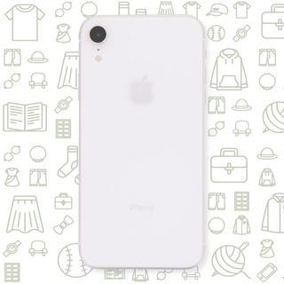 アイフォーン(iPhone)の【B】iPhoneXR/256/SIMフリー(スマートフォン本体)