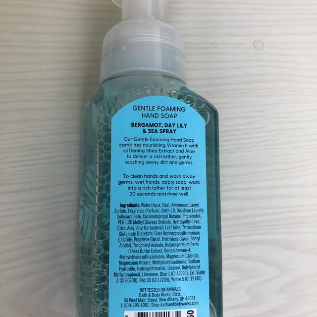 Bath & Body Works(バスアンドボディーワークス)のbath &body  works のハンドソープ 236ml コスメ/美容のボディケア(ボディソープ/石鹸)の商品写真