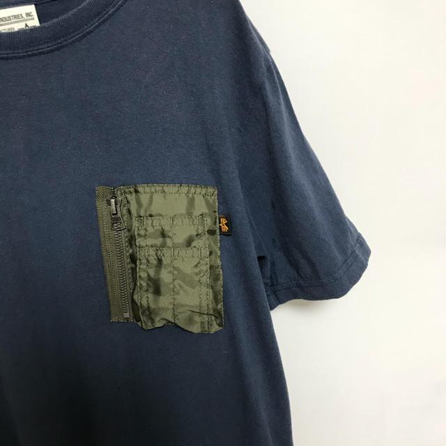ALPHA INDUSTRIES(アルファインダストリーズ)のアルファ ALPHA Tシャツ カットソー メンズ メンズのトップス(Tシャツ/カットソー(半袖/袖なし))の商品写真