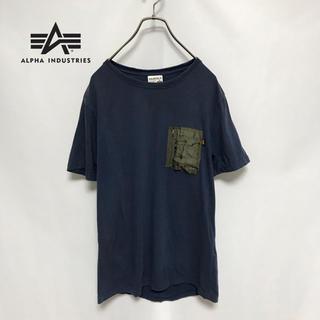 アルファインダストリーズ(ALPHA INDUSTRIES)のアルファ ALPHA Tシャツ カットソー メンズ(Tシャツ/カットソー(半袖/袖なし))