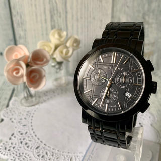 BURBERRY - 【美品】BURBERRY バーバリー BU1373 腕時計 クロノグラフ