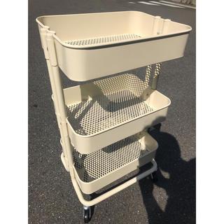 イケア(IKEA)のikea イケア ロースコグ ワゴン(キッチン収納)