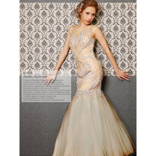 エンジェルアール(AngelR)のangelR  ボタニカルマーメイドドレス 美品(ナイトドレス)