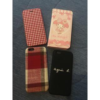 アニエスベー(agnes b.)のiPhone6 6s用♡ケース まとめ売り(iPhoneケース)