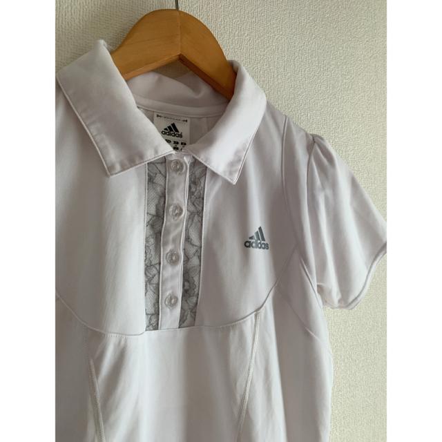adidas(アディダス)の期間限定価格☆アディダスポロシャツ レディース☆スポーツウェア スポーツ/アウトドアのランニング(ウェア)の商品写真