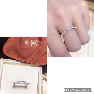 フォリフォリ(Folli Follie)の❤️送料込み☆正規品フォリフォリ良質キラキラダイヤモンド個性派リング(リング(指輪))