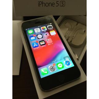 iPhone - iPhone5s 16GB Space Gray docomo