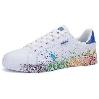 アディダス(adidas)の即購入ok男女兼用カラフルスニーカー韓流アディダス青好きに♪23スタンスミス(スニーカー)