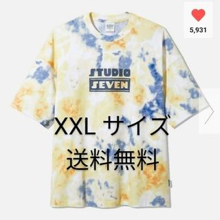 ジーユー(GU)のGU オーバーサイズT5分袖STUDIO SEVEN  XXLサイズ(Tシャツ/カットソー(半袖/袖なし))
