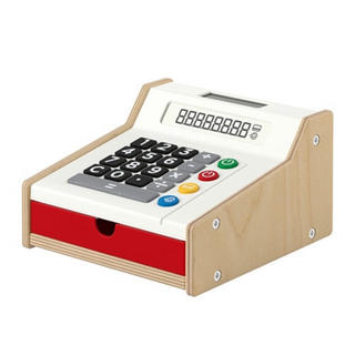 イケア(IKEA)のIKEA DUKTIG 木製レジ(知育玩具)