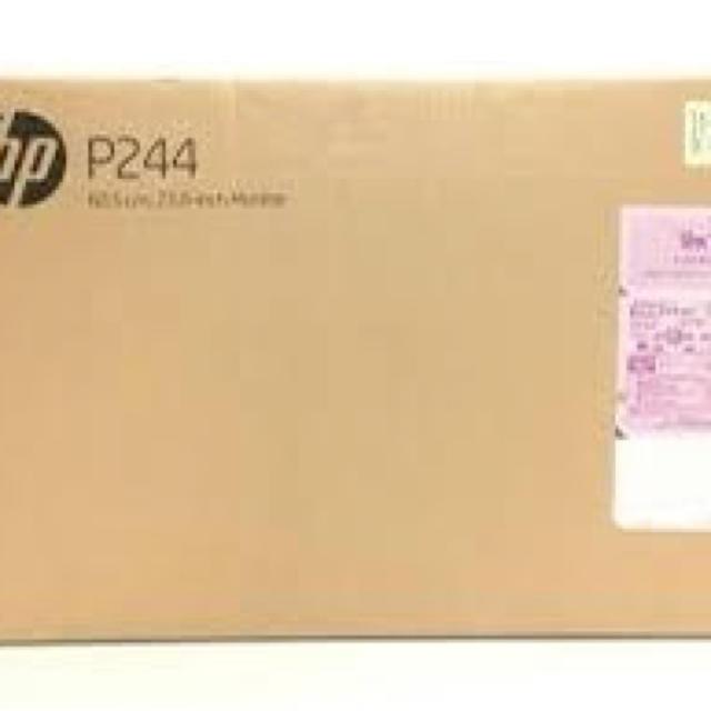 HP(ヒューレットパッカード)の新品未開封未使用品HP 5QG35AA#ABJ 23.8インチ モニターP244 スマホ/家電/カメラのPC/タブレット(ディスプレイ)の商品写真