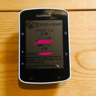 ガーミン(GARMIN)のガーミン EDGE 520J センサー無し(その他)