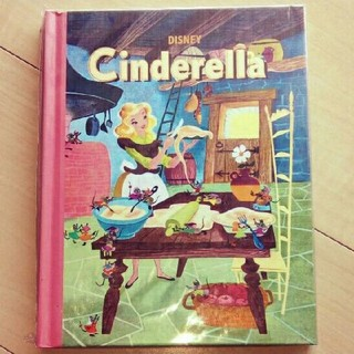 ディズニー(Disney)のシンデレラ 絵本風ノート(ノート/メモ帳/ふせん)