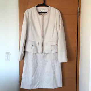 grove - 美品 grove ノーカラー ジャケット ワンピース スーツ 入学式
