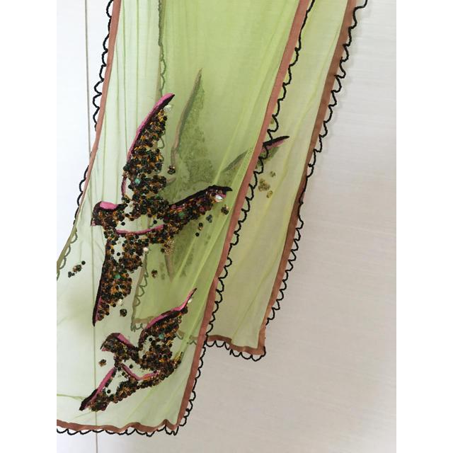 DRIES VAN NOTEN(ドリスヴァンノッテン)のドリスヴァンノッテンビジュースカーフショールストールマフラーアッシュペーフランス レディースのファッション小物(ストール/パシュミナ)の商品写真