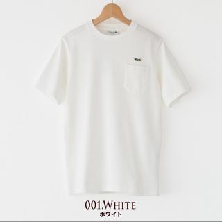 ラコステ(LACOSTE)の新品 LACOSTE ビッグ鹿の子 ポケットTシャツ(Tシャツ/カットソー(半袖/袖なし))