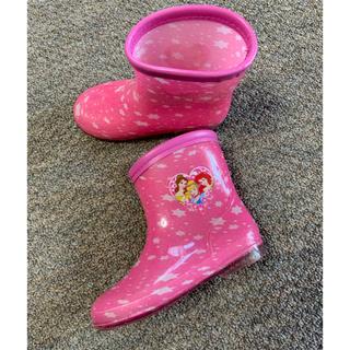 ディズニー(Disney)のディズニープリンセス 長靴 レインブーツ 17cm(長靴/レインシューズ)