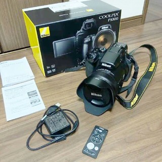 ニコン(Nikon)のニコン NIKON COOLPIX P1000 美品 純正リモコン クールピクス(コンパクトデジタルカメラ)