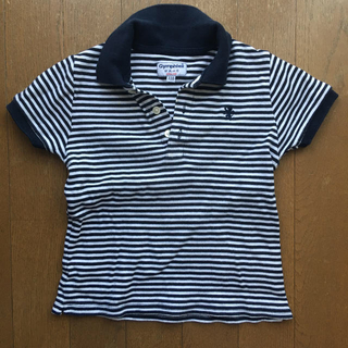 ジムフレックス(GYMPHLEX)のジムフレックスボーダーポロシャツ100位Gymphlex(Tシャツ/カットソー)