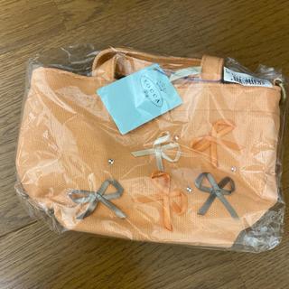 トッカ(TOCCA)の新品TOCCA トッカ スワロリボントートバッグXS ライトオレンジ キッズ(ポシェット)