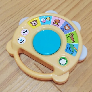 たまひよ たんたん タンバリン 楽器 ベビー  おでかけ おもちゃ