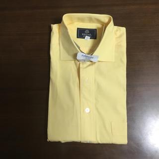 リーガル(REGAL)のリーガル メンズ シャツ 黄色 ストライプ 半袖 クリーニング済み(シャツ)
