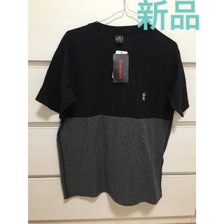 キスマーク(kissmark)の新品 未使用 キスマーク 半袖 Tシャツ M ブラック メンズ(Tシャツ/カットソー(半袖/袖なし))